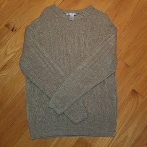 Geoffrey Beene Cable Knit Sweater XL